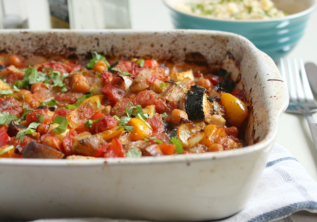 Ratatouille: Easy roasted vegetable ratatouille